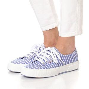 SuperGa  2750 Striped Cotu Sneakers